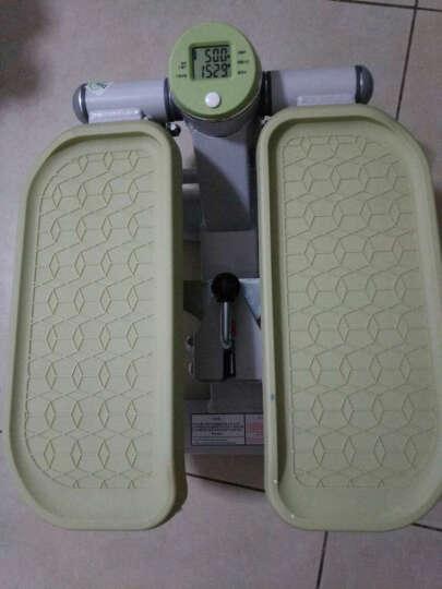 韩国踏步机 家用静音减肥扭腰机脚踏机多功能迷你踩踏机健身器材 苹果绿 晒单图