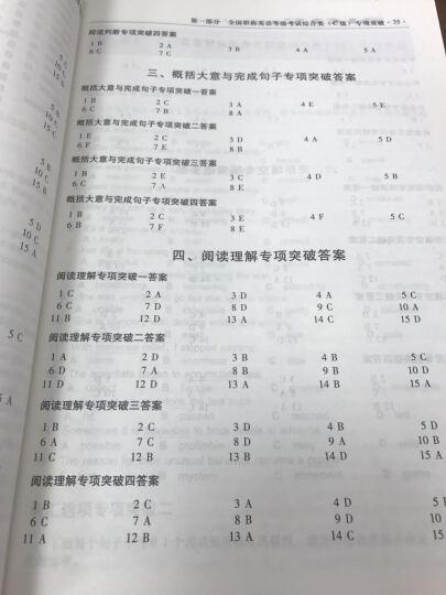 2016全国职称英语等级考试专项突破与综合训练(卫生类) 晒单图