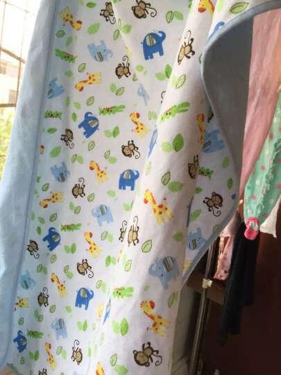 萌宝(Cutebaby) 婴儿新生儿法兰绒三层隔尿垫  防水透气 30*45 晒单图