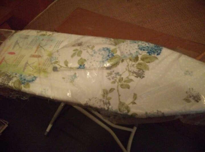 烫衣板熨衣板折叠熨烫板 加强版 绿色小花大号 晒单图