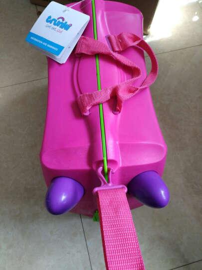 trunki儿童行李箱 卡通图案可坐骑拉杆储物箱 户外旅行箱18L-西部牛仔3岁以上 英国潮牌 晒单图