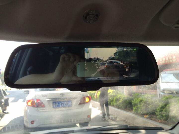 卡仕达 智能语音声控后视镜双镜头高清行车记录仪GPS导航仪安全预警仪雷达测速倒车影像一体机 标配+无线外置胎压监测 沃尔沃S80L/S40/S60L/XC60/V40 晒单图
