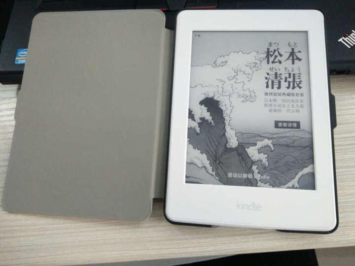 丁奇 亚马逊Kindle保护套499款/558款/958款 电子书休眠皮套 沙滩女孩 Paperwhite1/2/3代(958版) 晒单图