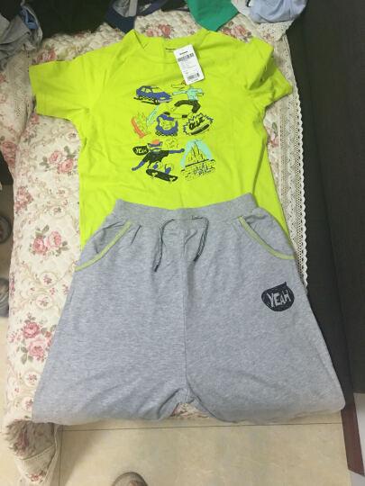 巴拉巴拉童装男童背心中大童无袖上衣2017夏装新款小孩儿童男 粉蓝 150cm 晒单图
