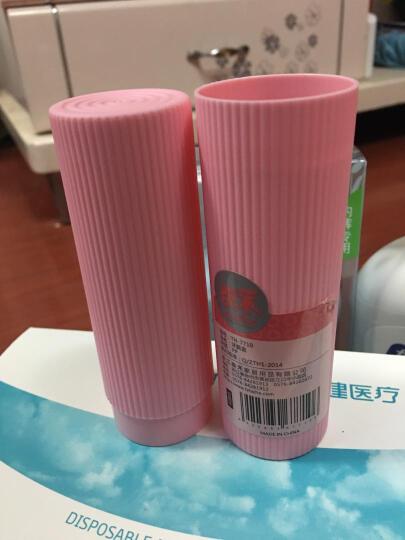 四万公里 旅行男女漱口杯牙刷杯 出差便携牙膏牙刷收纳盒 儿童情侣多功能洗漱牙具盒 SW2001 小号 多彩粉色(2件起售) 晒单图