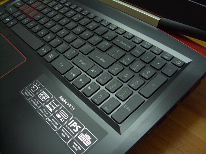 宏碁(Acer)暗影骑士3 VX5 15.6英寸游戏笔记本(i5-7300HQ 8G 128G SSD+1T GTX1050 2G独显 Win10 IPS) 晒单图