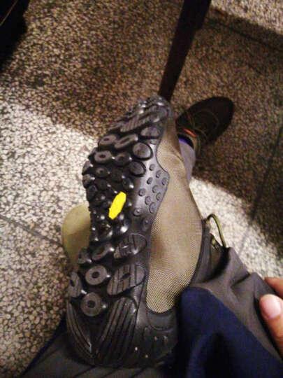 祥冠(XIANG GUAN) 登山鞋男户外鞋女春夏季防泼水透气牛津布耐磨徒步鞋 黑色-高帮(新鞋底) 运动码42 晒单图