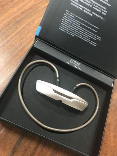 阿奇猫 Q42无线运动跑步蓝牙耳机双耳音乐车载蓝牙适用于苹果7oppo华为vivo通用 黑色 晒单图