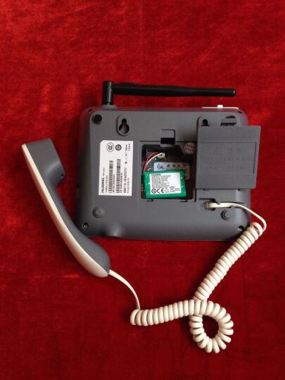 华为(HUAWEI)F317 无线固话座机 插卡电话机 移动联通手机卡白色 晒单图