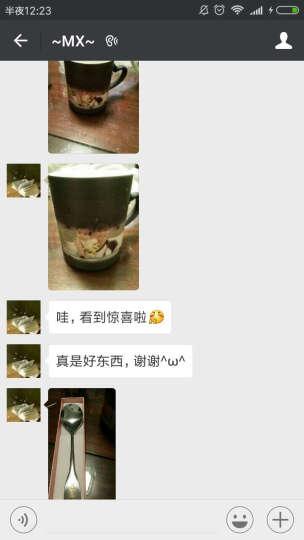 益好 生日礼物情侣变色杯子马克水杯 照片定制创意礼品送男女友朋友情人节礼物 黑色哑光心形把 变色杯 晒单图