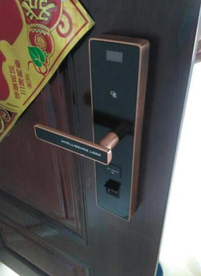 塞纳春天指纹锁 家用智能防盗门锁 电子密码锁SN-M3 指纹锁上门安装-单拍不发货 晒单图