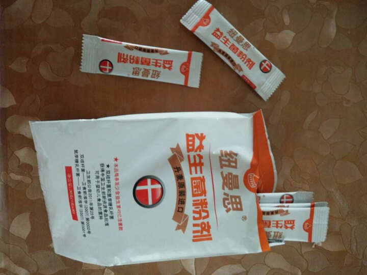 纽曼思(Nemans) 纽曼思(原名:纽曼斯) 丹麦原装进口 益生菌粉末 儿童型30袋o 晒单图