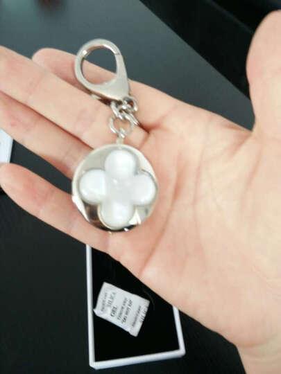 傲玛O·M女士蓝牙智能防丢钥匙扣创意礼品钥匙链女包包挂件送备用电池 AK013银色 晒单图