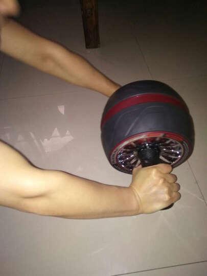 若赛(Ruosai) 健腹轮巨轮腹肌轮收腹滚轮健腹器静音健身俯卧撑轮 红色黑皮 晒单图