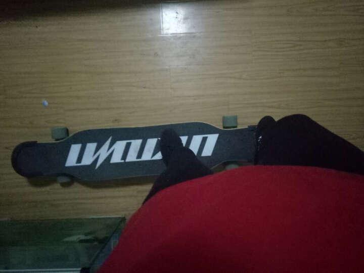 UNKNOWN韩国长板滑板四轮专业成人男女初学者刷街代步跳舞板双翘舞板DACING板 海面粉 46寸 117cm 晒单图