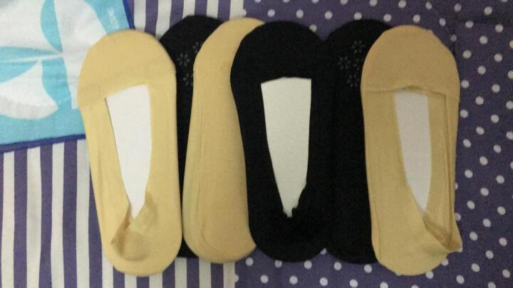 永春袜子女士堆堆袜春秋夏款中筒袜少女学生日系长袜子 4双装 4咖色 晒单图