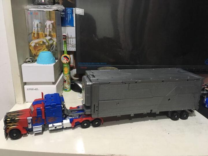 胜雄 变形玩具机器人金刚仿真模型一键遥控变形汽车人布加迪威龙儿童男孩礼物变形金刚 火速龙风-五合一 晒单图
