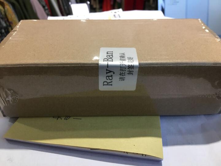 Ray-Ban 雷朋墨镜男女款飞行员系列金色镜框橘色闪光偏光镜片眼镜太阳镜 RB3025 112/4D 58mm 晒单图
