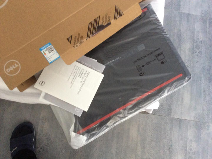 戴尔DELL灵越游匣15PR-5745B 15.6英寸游戏笔记本电脑(i7-7700HQ 8G 128GSSD+1T GTX1050 4G独显 FHD)黑 晒单图