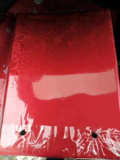 小确幸家纺四件套 纯棉贡缎提花床品套件 全棉绣花婚庆床上用品 浮世英伦-白 1.8米床(被套200*230)四件套 晒单图