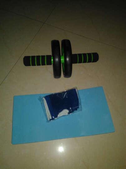 ZHENG健腹轮双轮健腹器俯卧撑支架器 绿色 晒单图