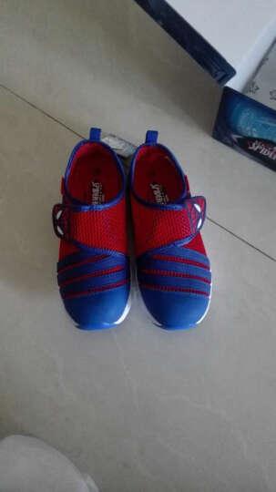 迪士尼(Disney)童鞋儿童运动鞋女童鞋夏季美国队长男童运动鞋公主休闲鞋DS0964 紫色苏菲亚 29/参考脚长179mm 晒单图