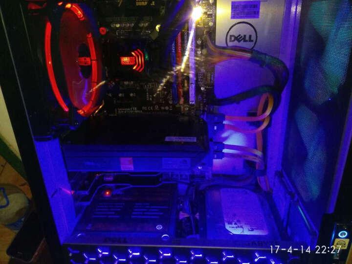 乔思伯(JONSBO)Eclipse日食-炫光红 12CM机箱风扇 (LED发光风扇/PWM智能温控/主板4PIN接口) 晒单图