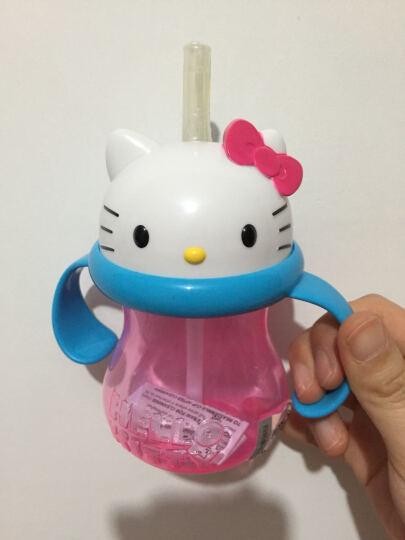 满趣健Munchkin hello kitty双把手吸管杯 232ml 6个月以上宝宝 晒单图