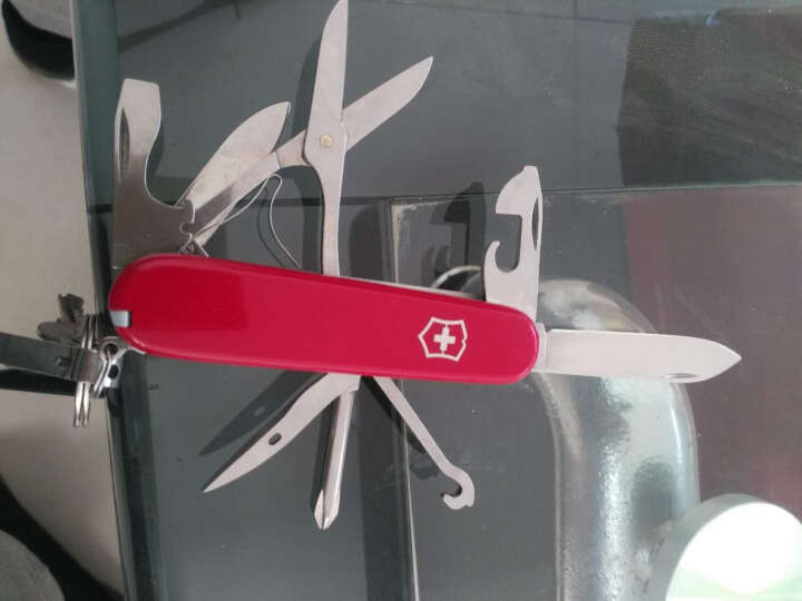 维氏VICTORINOX瑞士军刀红色农场主1.4713 生日礼物 晒单图