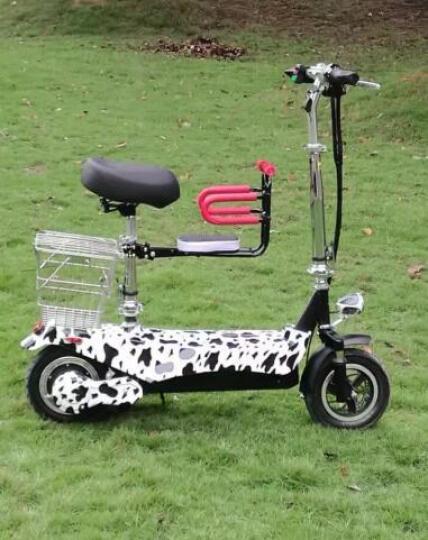 微神 电动滑板车 成人男女士迷你折叠  代步 电动车自行车 银色 旗舰版10寸48V前后双减震45-50公里 晒单图