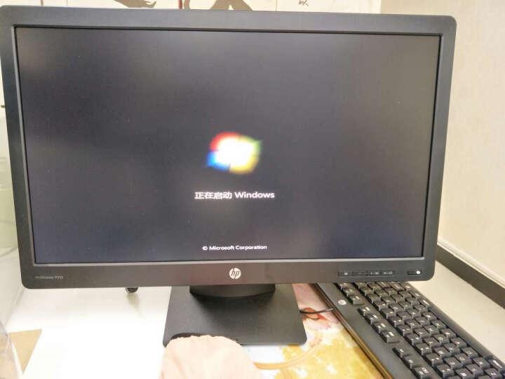 惠普(HP)286 Pro G2 MT 台式办公电脑主机(i5-6500 4G 128GSSD+1T DVDRW office 3年上门服务) 晒单图