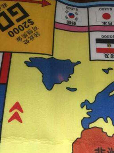 华婴大号双面米奇飞行棋游戏套装铠甲勇士高级游戏毯爬行垫地毯儿童亲子桌游玩具 19408华婴迪士尼飞行游戏套装(小) 晒单图