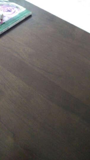 熙和实木斗柜简约美式储物柜高低斗柜复古五金把手环保水性漆健康卧室储物家具 5抽屉高斗柜 晒单图