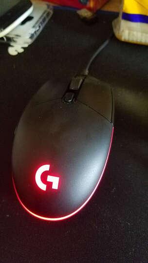 罗技吃鸡鼠标宏编程G502绝地求生大逃杀rgb光效游戏一键自动压枪辅助电竞机械键鼠套装有线雷柏fps 罗技G102(送)雷柏V510S黑(青轴) 晒单图