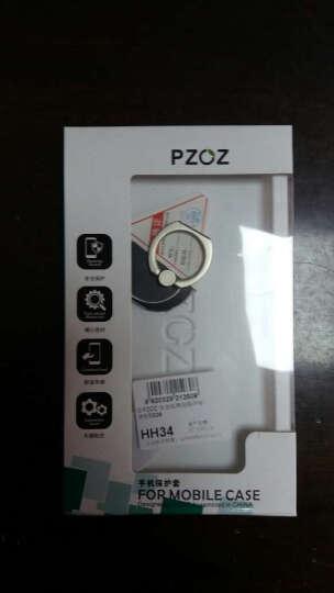 派滋 手机支架懒人支架 手指环扣金属粘贴式适用于苹果小米平板通用款 黑色 晒单图