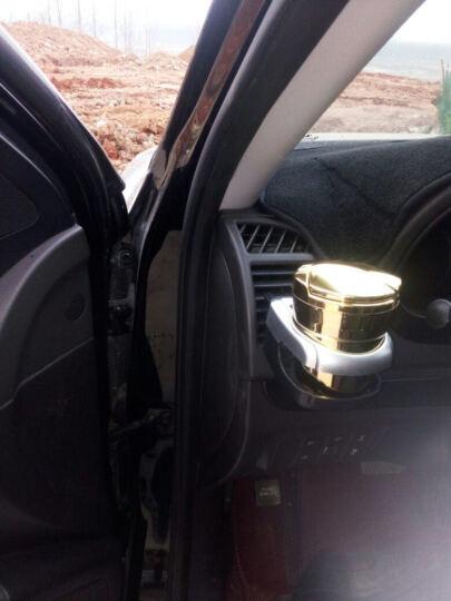 尼克莱斯 车载烟灰缸创意个性有盖多功能悬挂式车内带LED灯汽车用烟缸车用 烟灰缸(炫酷黑)1个装 雪铁龙标C4L 爱丽舍 世嘉C5 C2 晒单图
