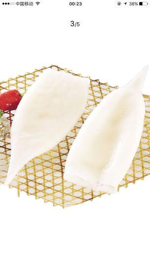 yuepw 阿根廷进口冰冻鱿鱼桶(去内脏) 100-150g 1只 袋装 海鲜水产 晒单图