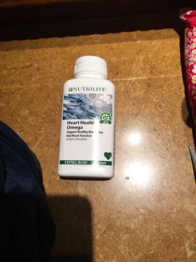 美国Amway安利深海鱼油软胶囊 纽崔莱欧米伽3护心鱼油降血脂血压 90粒 2瓶 晒单图