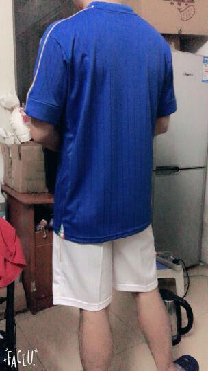 2018球衣定制国家队主客场足球服套装男比赛队服光板足球训练服 德国主场白色带标 XL建议身高180-185CM 晒单图