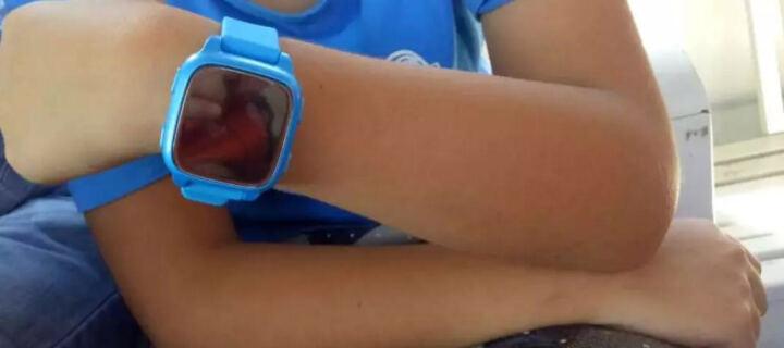 爱贝多 i8儿童电话手表定位小学生男孩女生儿童微信防水智能防丢手环手表手机 蓝色 升级版  触屏版+升级防水+2重定位 晒单图