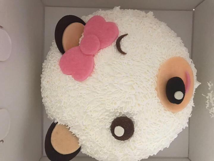 宜芝多 生日蛋糕定制预定奶油慕斯芝士巧克力芒果水果儿童卡通上海同城配送 男人本色 8寸(3-4人) 晒单图