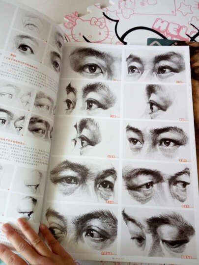 敲门砖·素描风暴系列美术丛书·素描风暴:素描头像·多角度 晒单图