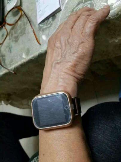 欧创gps定位器 老人定位手表 儿童防走丢走失追踪跟踪器语音通话防水超长待机手环测心率i5 深度防水(银色) 晒单图