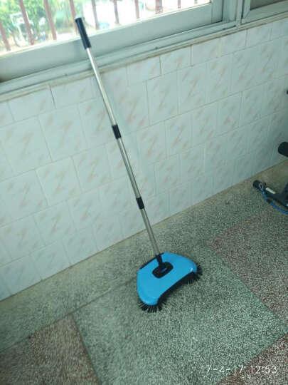 安尚(ANSHANG) 不用电自动手推式扫地机水洗扫地机器人手动吸尘器地板清洁器扫帚 新款蓝色 晒单图