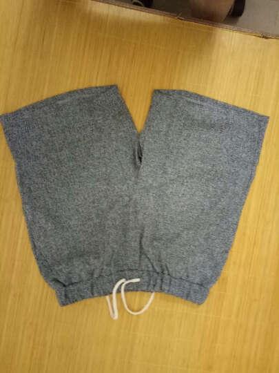 AR 短袖T恤男套装韩版修身运动圆领大码短袖T恤男士2017夏季薄款款纯色体恤 灰色 XXL 晒单图