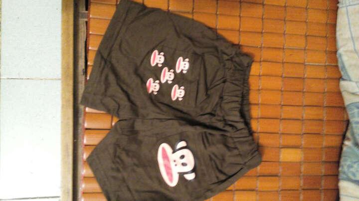 BAILIWEINI2018夏季新款  男女童棉短裤7分裤 透气舒适运动裤 蓝色大嘴猴短裤 110适合身高100cm 晒单图