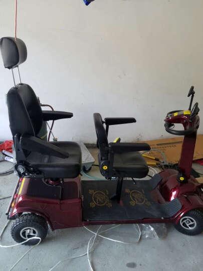 QIANGJINLI (强劲力)P412双座老年电动车代步车老人车残疾车老年车四轮车观光车 P412自动刹车+品牌电瓶48V 20AH 晒单图