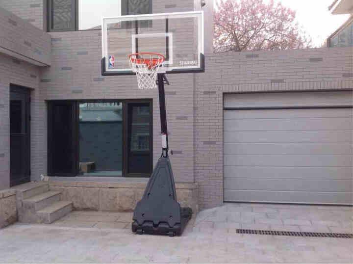 斯伯丁Spalding  48英寸无级内升降篮球框 训练比赛篮球架 ER59618 晒单图