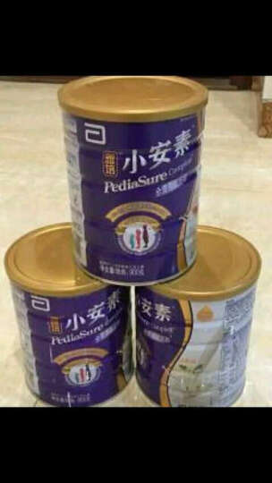 雅培(Abbott)小安素全营养配方粉香草味(1-10岁)900克(新加坡原装进口) 晒单图