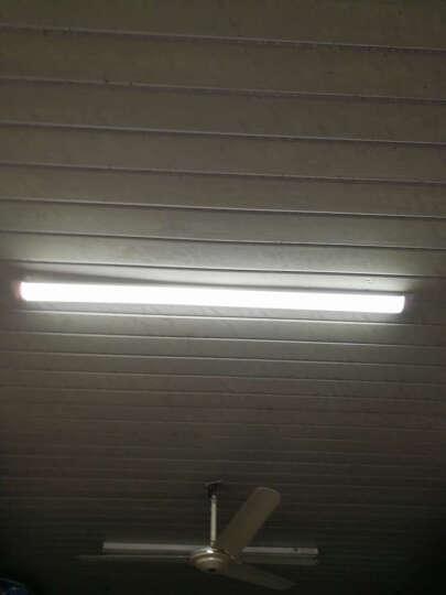 耐烁全套LED净化灯管三防灯净化灯办公工厂仓库一体灯管防尘净化灯具 A款 36W 1.2米 白光豪华款 晒单图